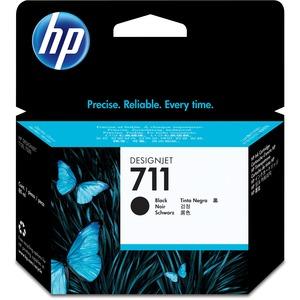 HP 711 negro 80ml Tinta amplio formato CZ133A