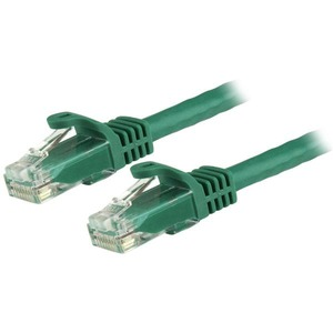 StarTech.com Cable de 0.5m Verde de Red Gigabit Cat6 Ethernet RJ45
