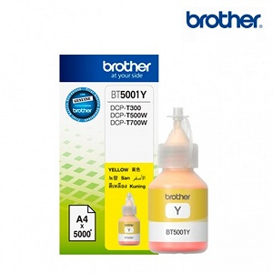Cartucho de tinta Brother BT5001Y-Amarillo-Inyección de tinta