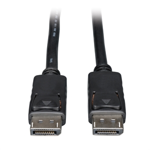 Cable DisplayPort con Seguro Video Digital-Audio-Monitor