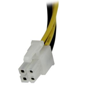 Cable 20cm ATX Extensión Macho a Hembra