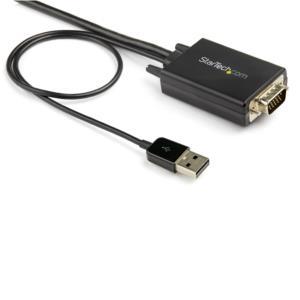 CABLE ADAPTADOR DE VGA A HDMI DE 2M