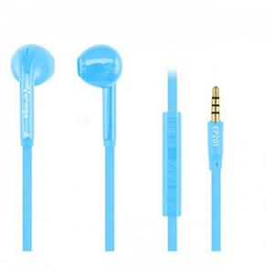 Vorago Audifono Ep-201 Azul Con Microfono