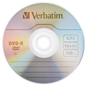 DVD-R VERBATIM 16X 4.7GB 120MIN