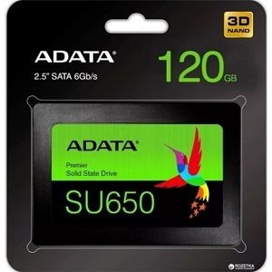 DISCO ESSTADO SOLIDO SSD ADATA SU650 120GB SATA III 2.5