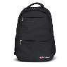Backpack Warrior color negro para laptop de hasta 15.6