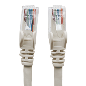 CABLE DE RED PATCH CAT6 RJ45 0.5 METROS 1.5 FT COLOR GRIS