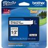 Cinta para etiquetas Brother P-touch TZE231 - 11.94mm Ancho x 8m Longitud - Rectángulo - Blanco - 1 Solamente