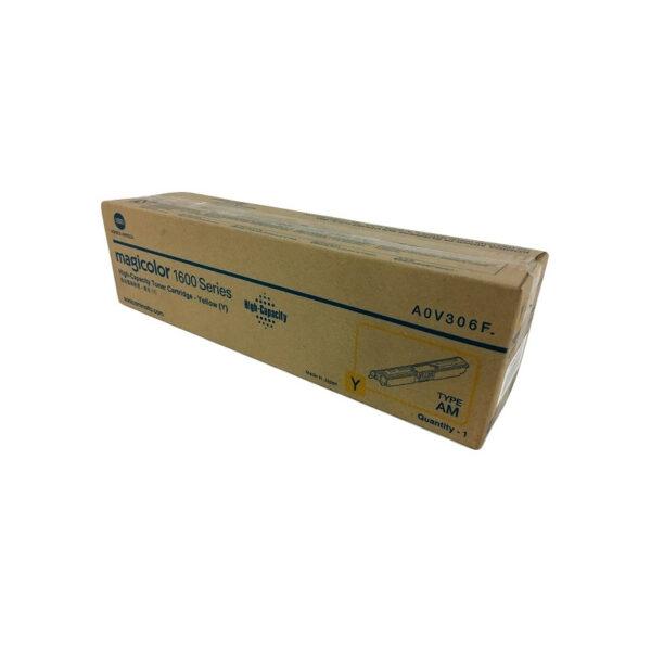 Toner Konica Minolta A0V306F Amarillo
