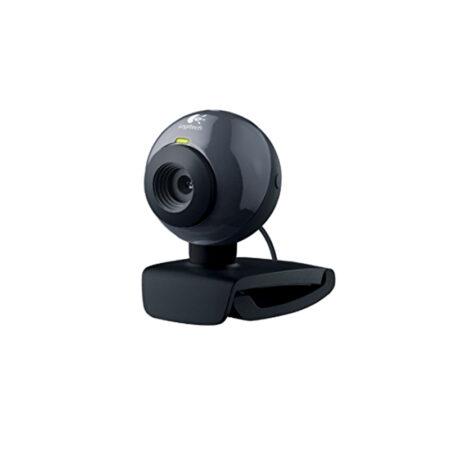 Cámara web Logitech C160, Negro